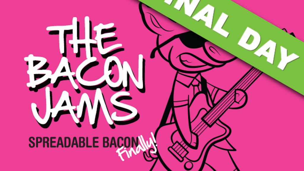 The Bacon Jams: A fun and unique spreadable bacon preserve! project video thumbnail