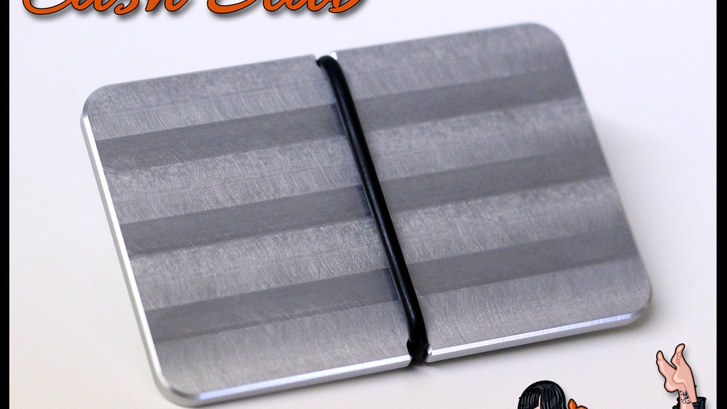 Cash Slab Wallet - Made in the USA project video thumbnail