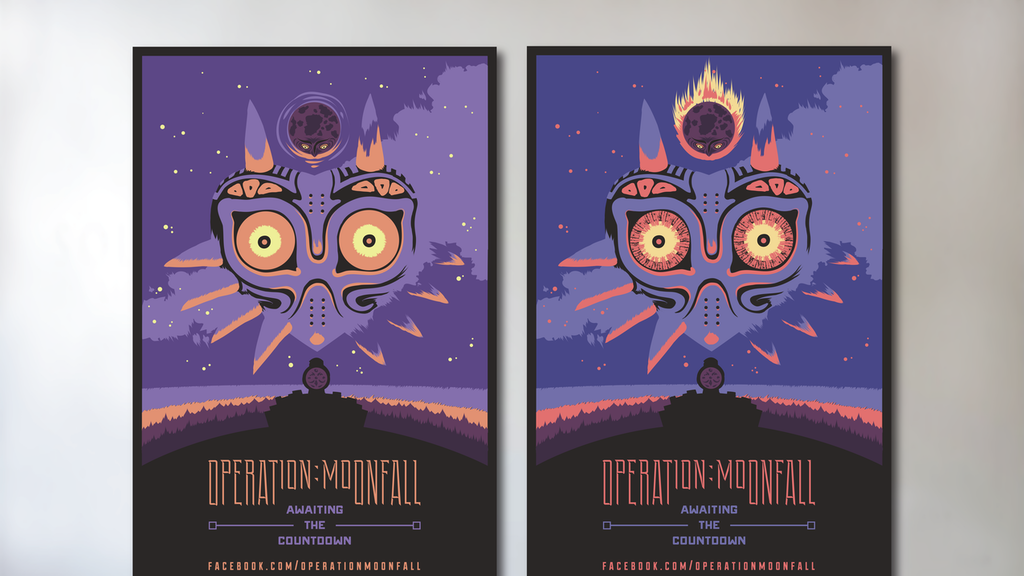 Operation: Moonfall Screen Printed Posters project video thumbnail