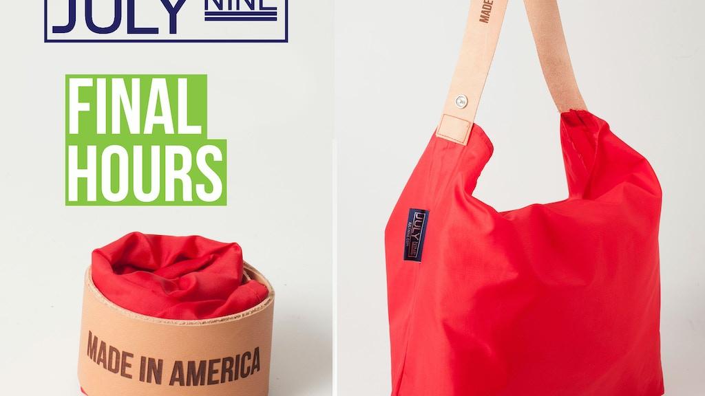 July Nine Reusable Bag project video thumbnail