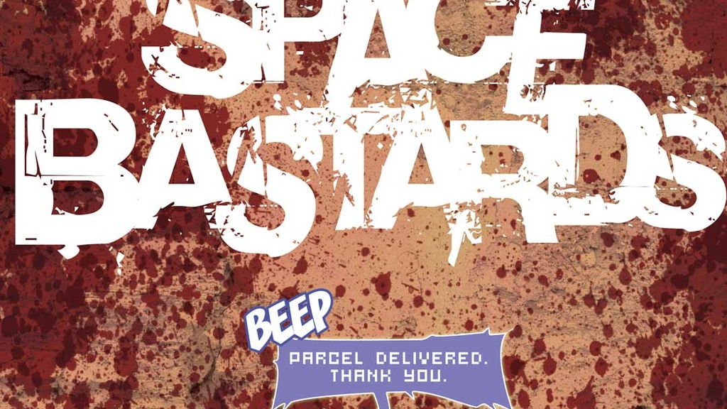 Space Bastards Comic Book project video thumbnail
