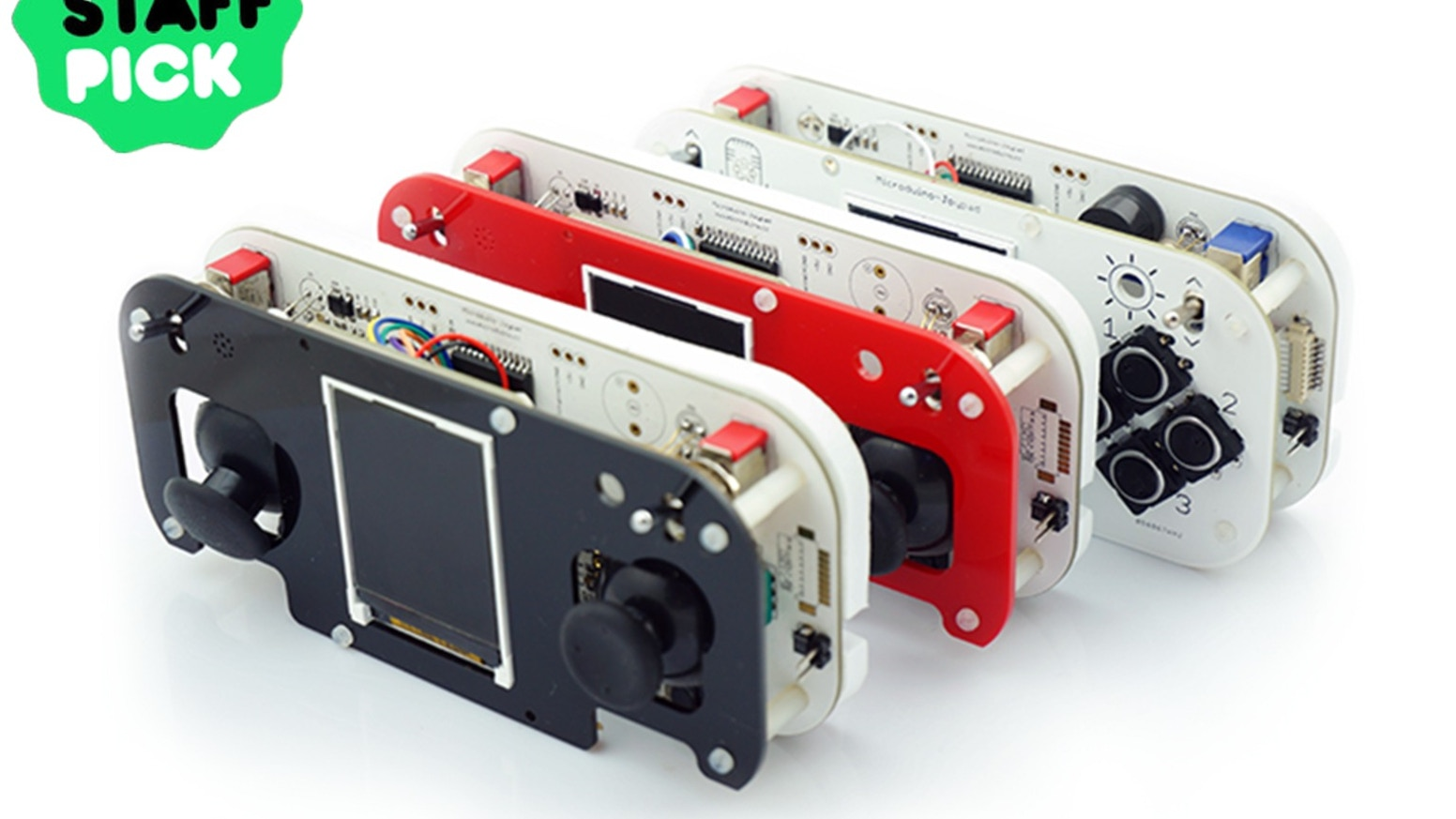 Microduino-Joypad: an open source 8-bit game console & more! by