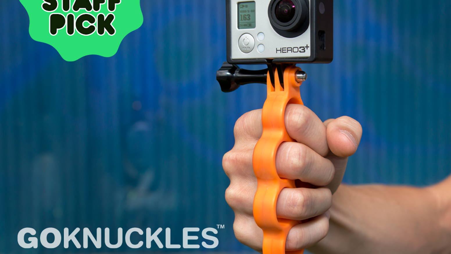 Hit the streets, surf, and snow with GoKnuckles - the most awesome way to mount and use your GoPro® HERO camera.