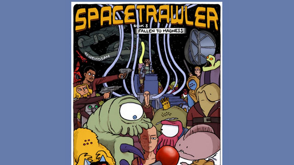 Spacetrawler Book Three project video thumbnail