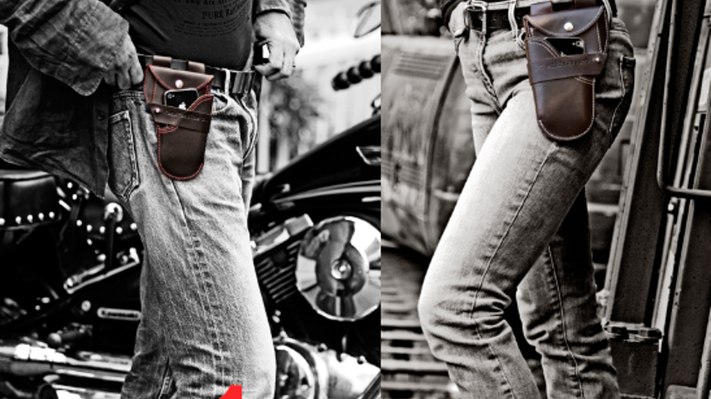 Urban Holster :An iPhone /Android,Wallet, Notebook, pen case project video thumbnail