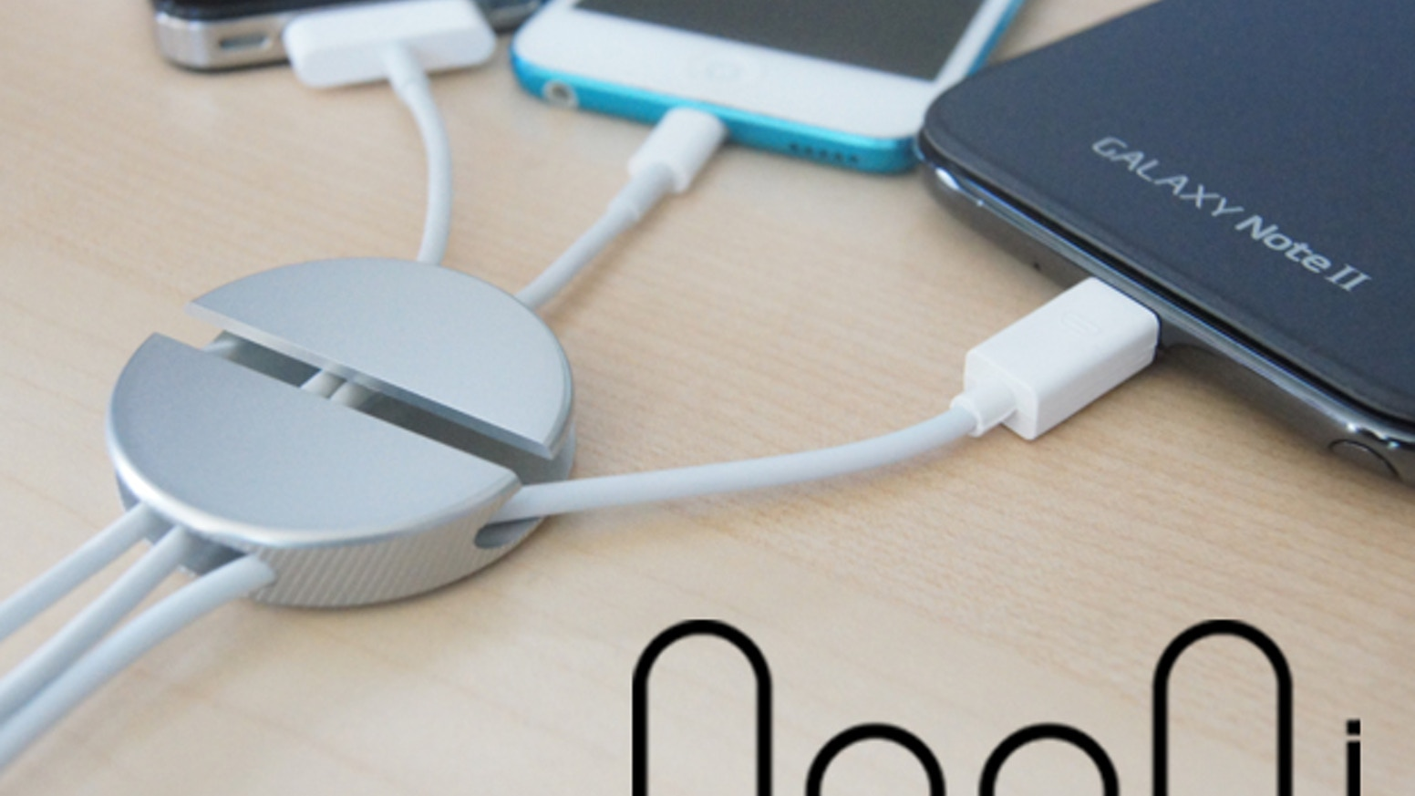 QooQi is a simple easy to use aluminum cable organizer