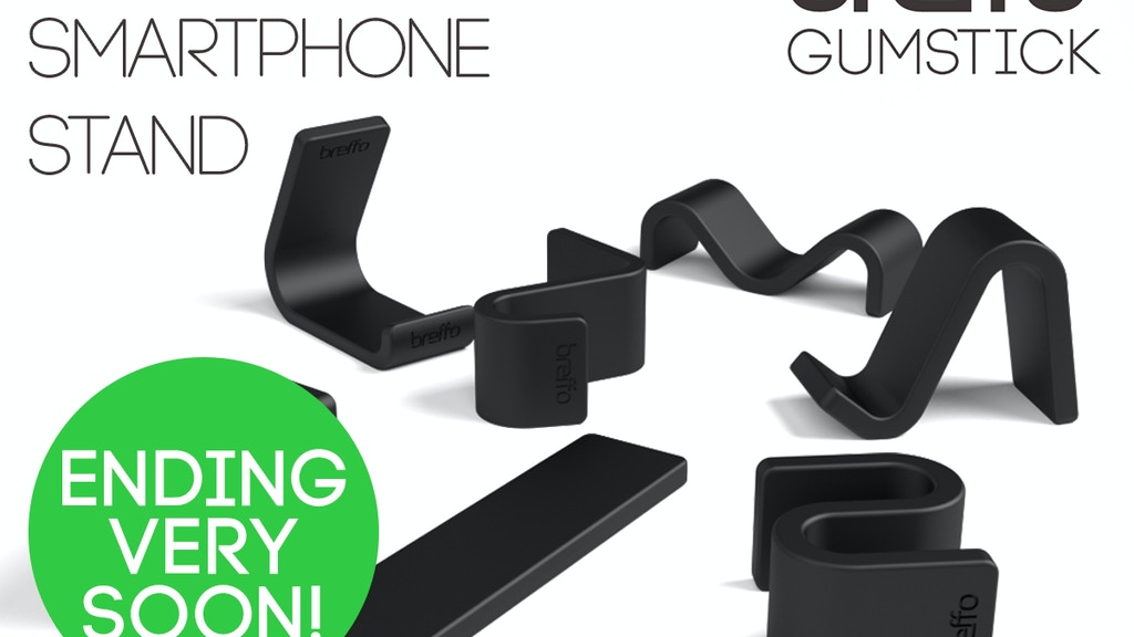 Gumstick: iPhone 5S, 5C, 5, 4, S4, iPod, Android, HTC Stand project video thumbnail