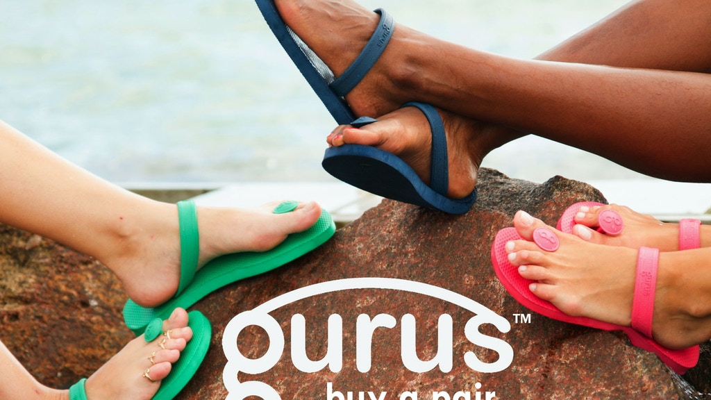 Gurus Natural Rubber Sandals project video thumbnail
