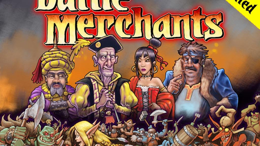 Battle Merchants - Economic Board Game project video thumbnail
