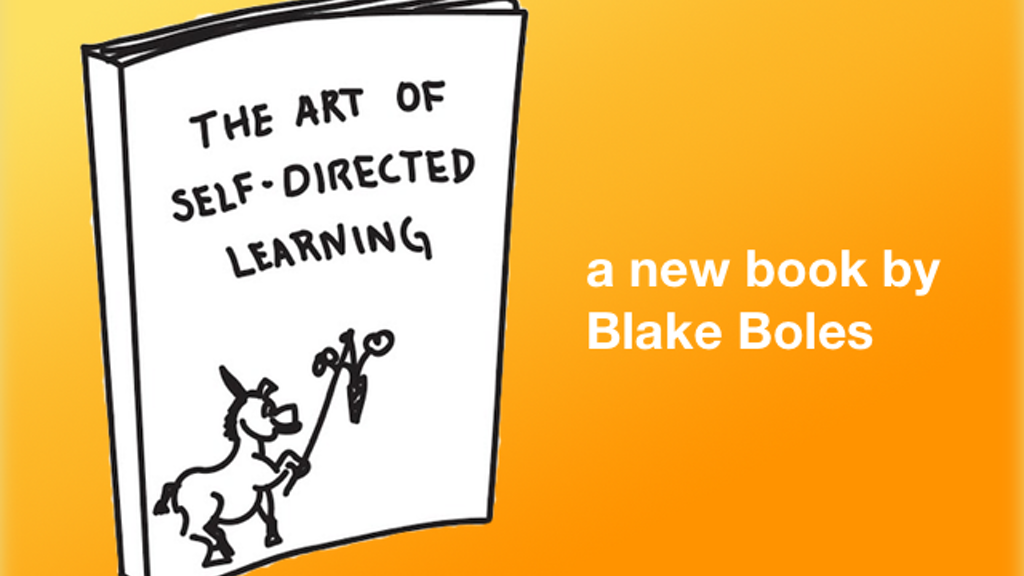 The Art of Self-Directed Learning project video thumbnail