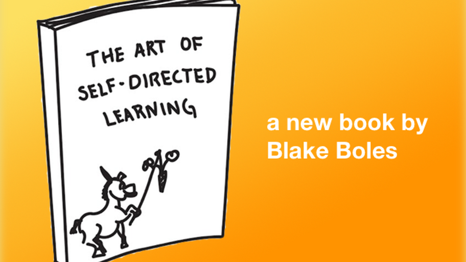 A new book with 23 illustrated stories about giving yourself an unconventional education in a conventional world.