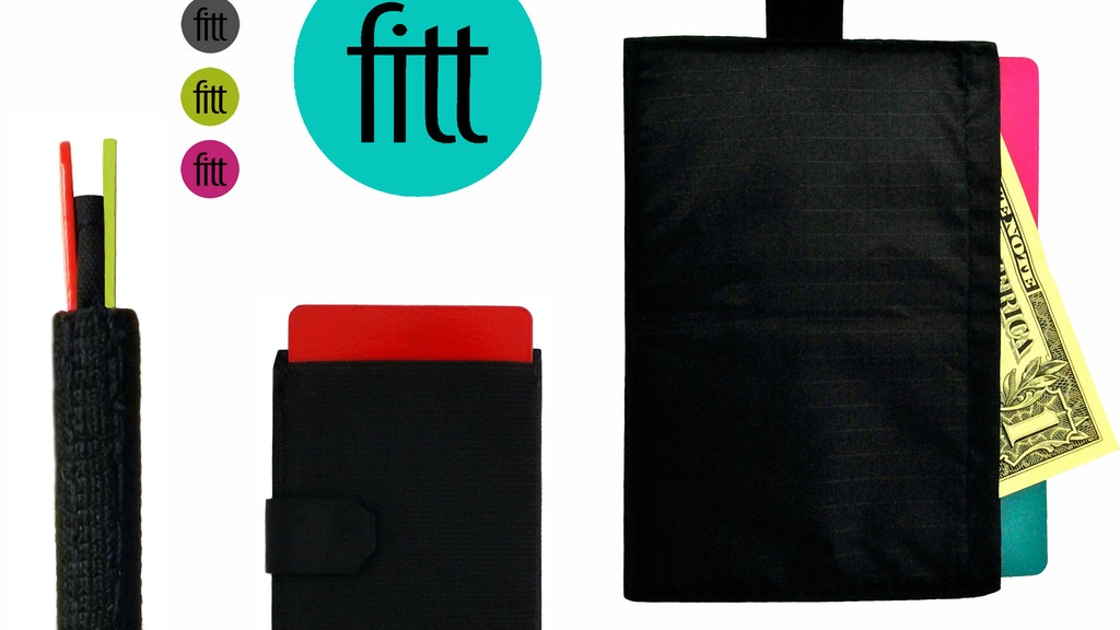 FITT: A more functional slim wallet project video thumbnail