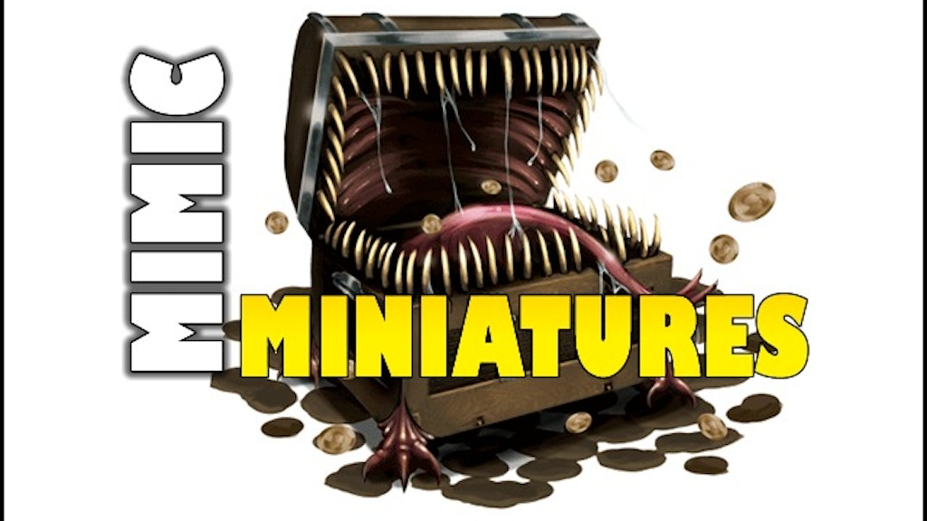 Mimic Miniatures: Personalized Gaming Miniatures of YOU! project video thumbnail