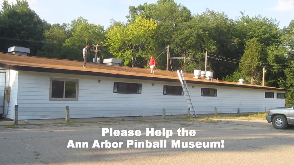 Ann Arbor Pinball Museum Wants to Open! project video thumbnail
