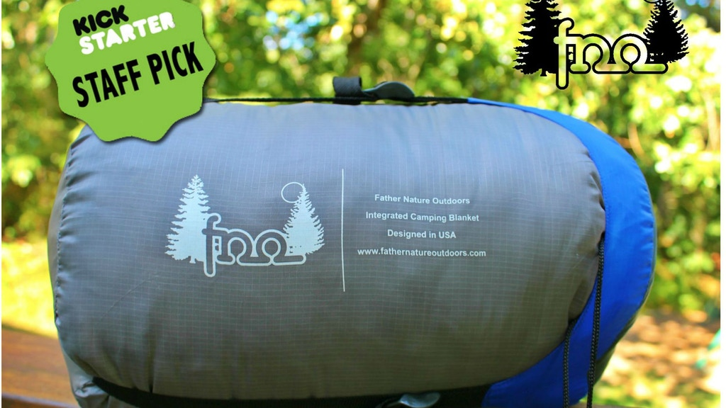 Father Nature Outdoors Integrated Camping Blanket project video thumbnail