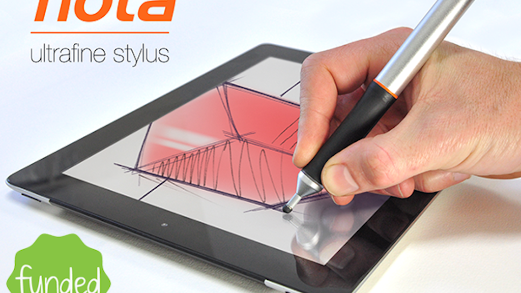 Nota: The Ultrafine Tip Stylus for iPad + Android Tablets project video thumbnail