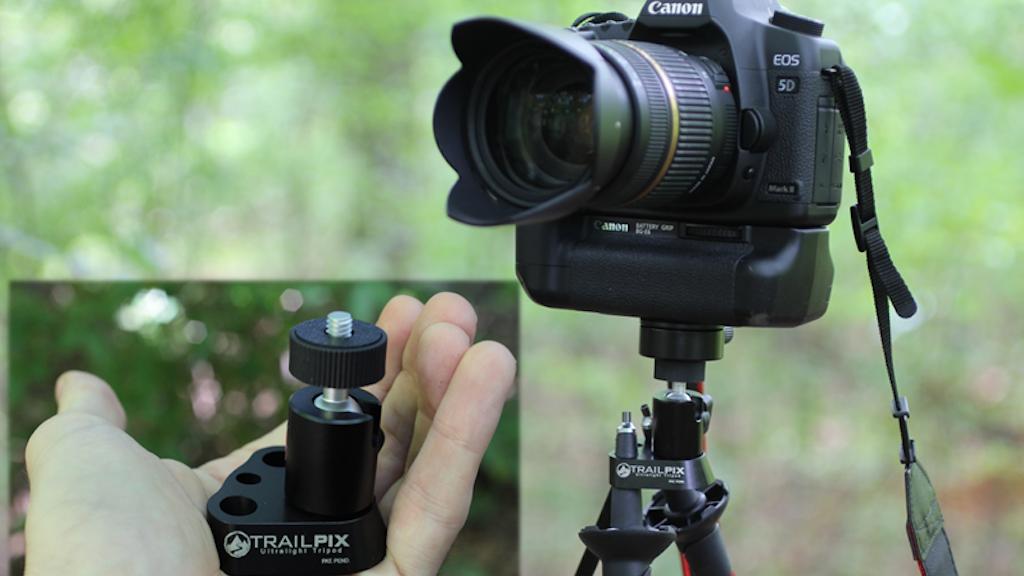 TrailPix Ultralight Tripod project video thumbnail