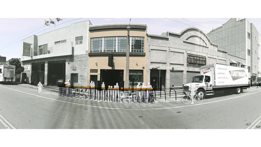 Parklet on Eleventh Street at DNA Lounge project video thumbnail