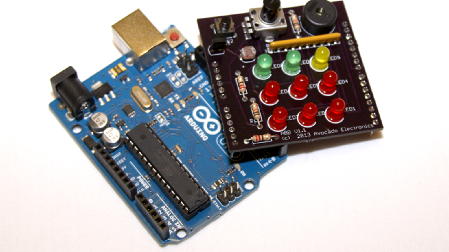 Young Person\'s Guide to Arduino & Avocado Beginner Board by Mike R ...