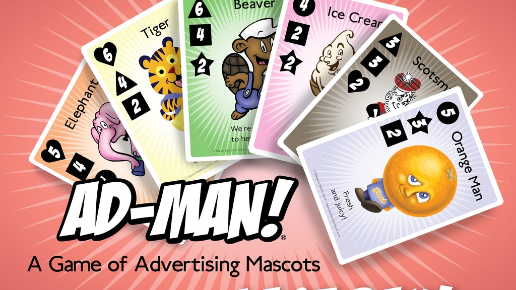 Ad-Man! a game of advertising mascots project video thumbnail