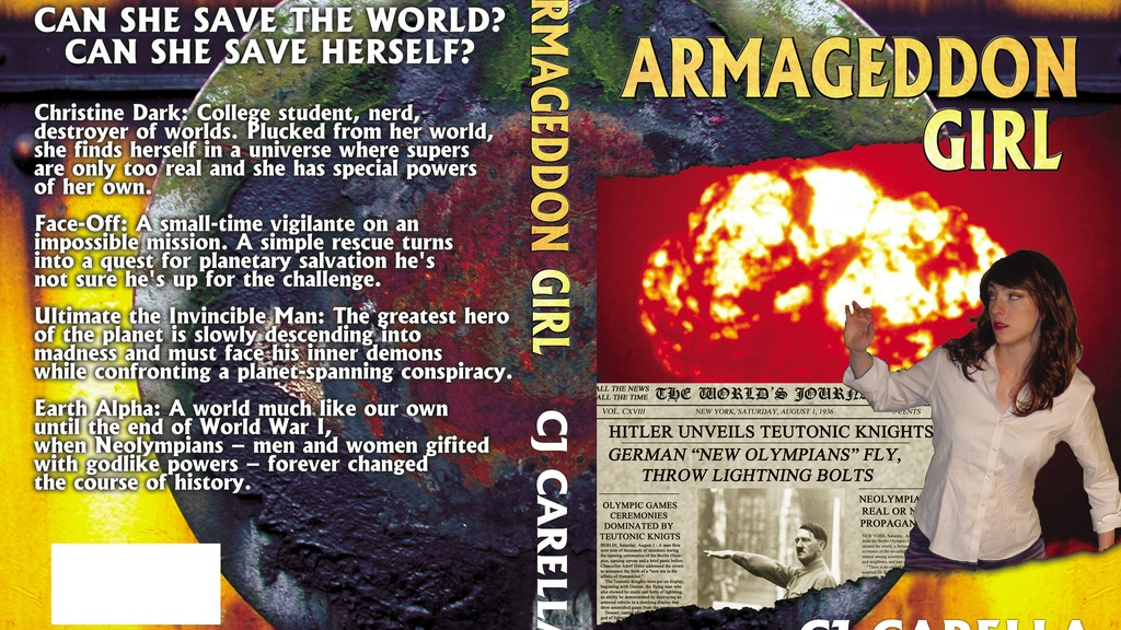 Armageddon Girl: A Novel By C.J. Carella project video thumbnail