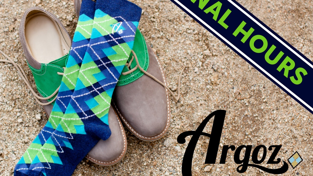 ARGOZ: Awesome Socks that Actually Fit -- RELAUNCH project video thumbnail