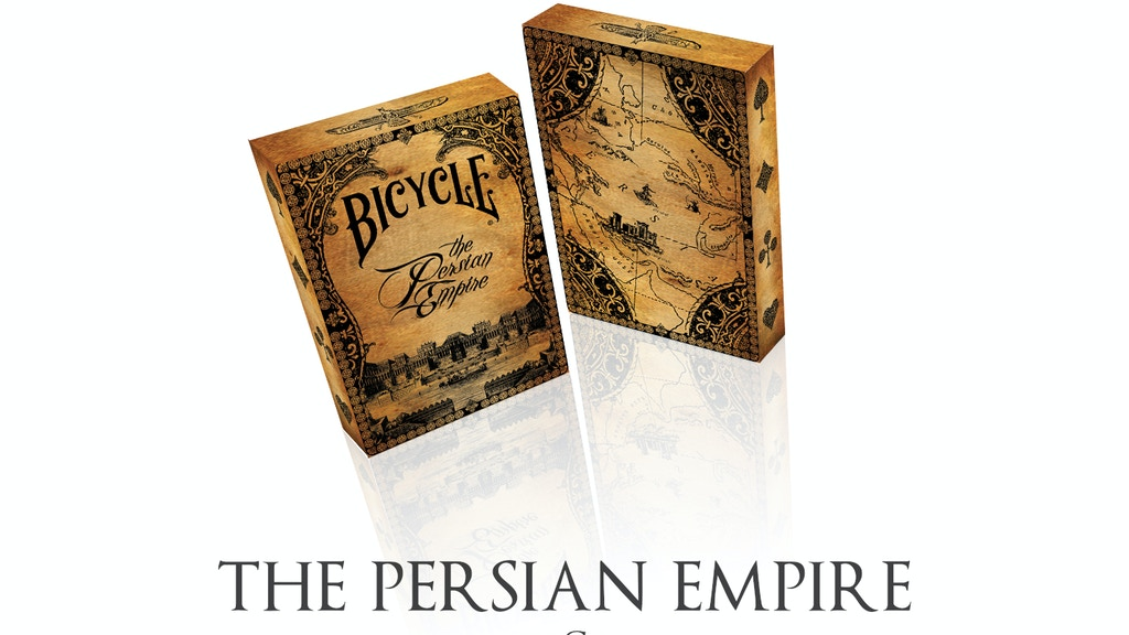 The Persian Empire - A NEW Bicycle Playing Card Deck. project video thumbnail