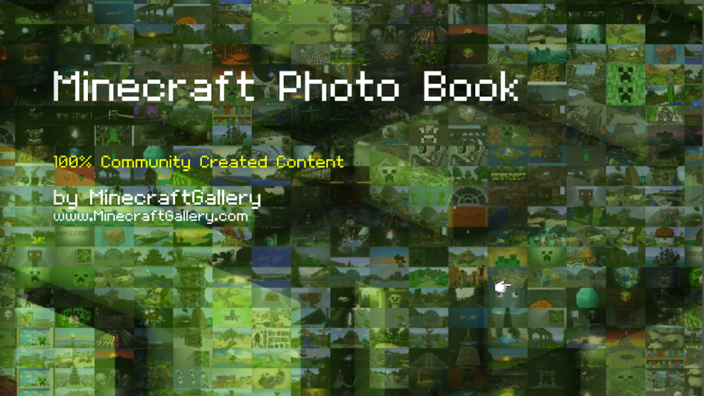 Minecraft Photo Book project video thumbnail