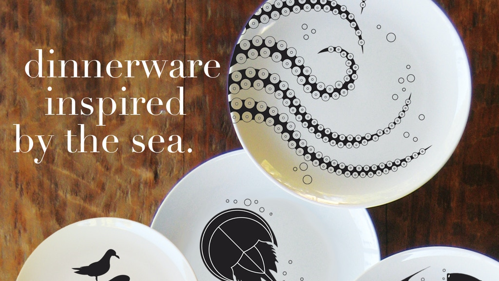 Nautical and Sea Life Inspired Dinnerware project video thumbnail