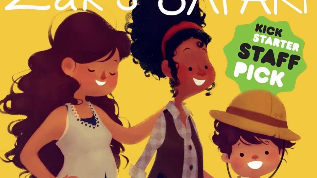 Zak's Safari Children's Book for Two-Mom Families project video thumbnail