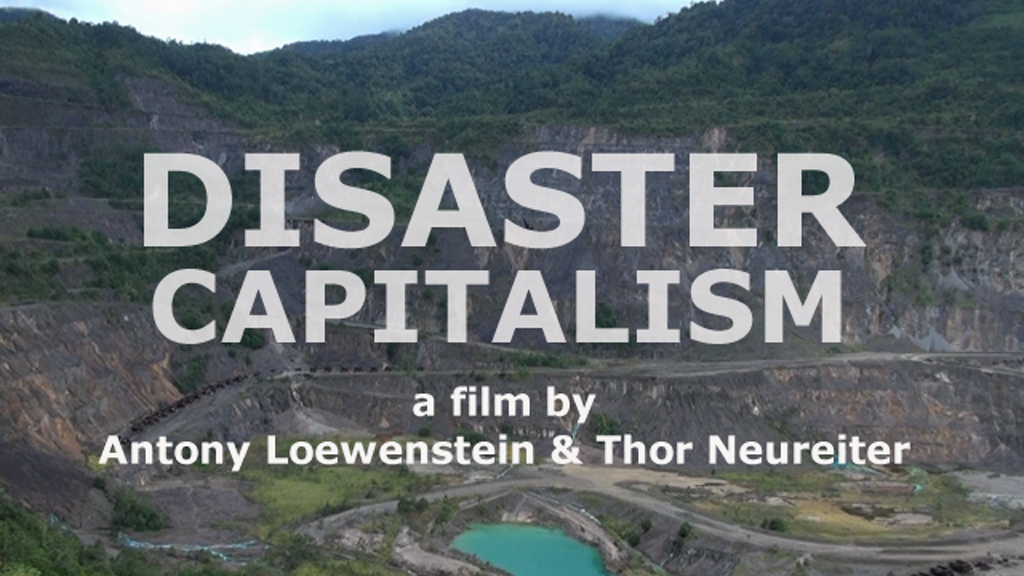 Disaster Capitalism: a feature length documentary project video thumbnail