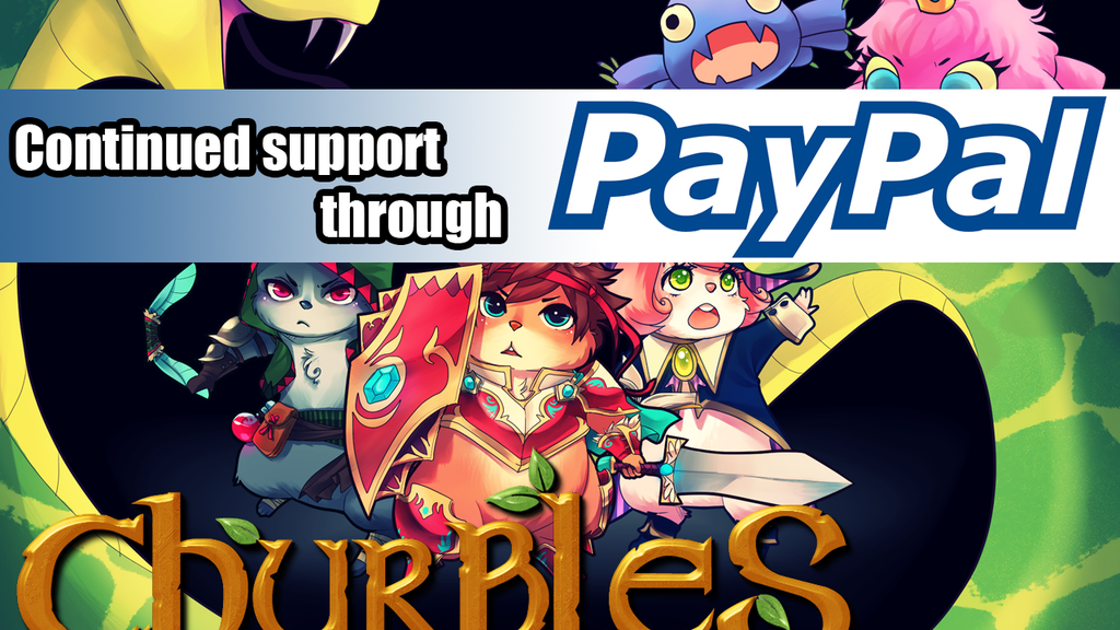 Churbles - Adorably Tough RPG - Wii U, PS4, XBO, PC, Mac project video thumbnail