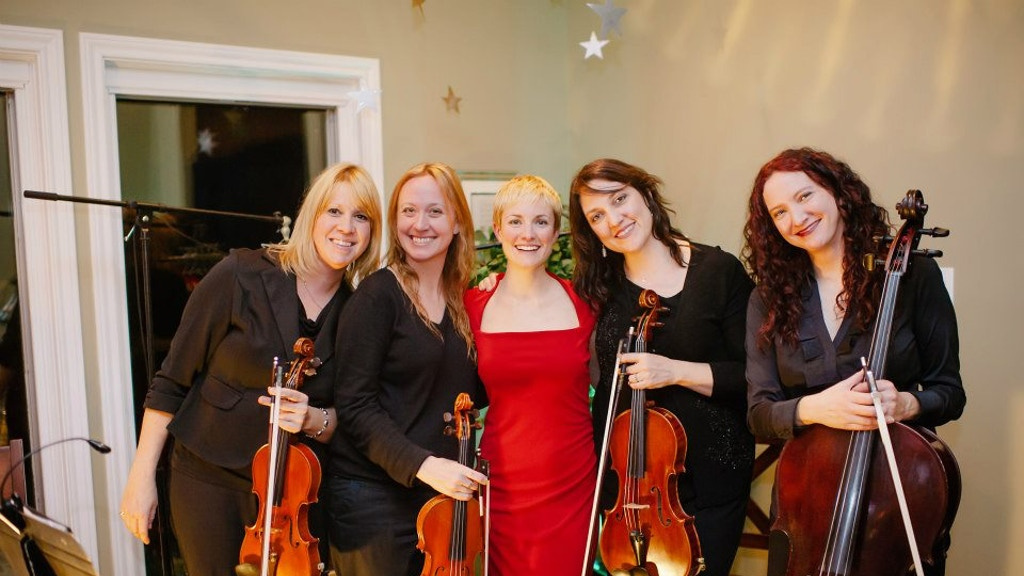 Erin Ivey & Tosca Strings: new audio/video song collection project video thumbnail