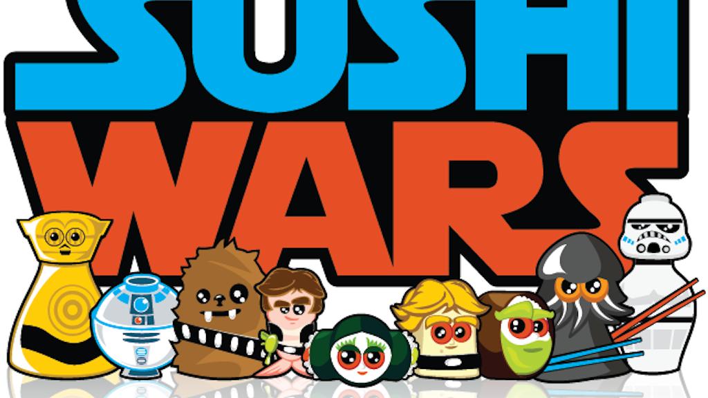 Sushi Wars T-Shirts project video thumbnail