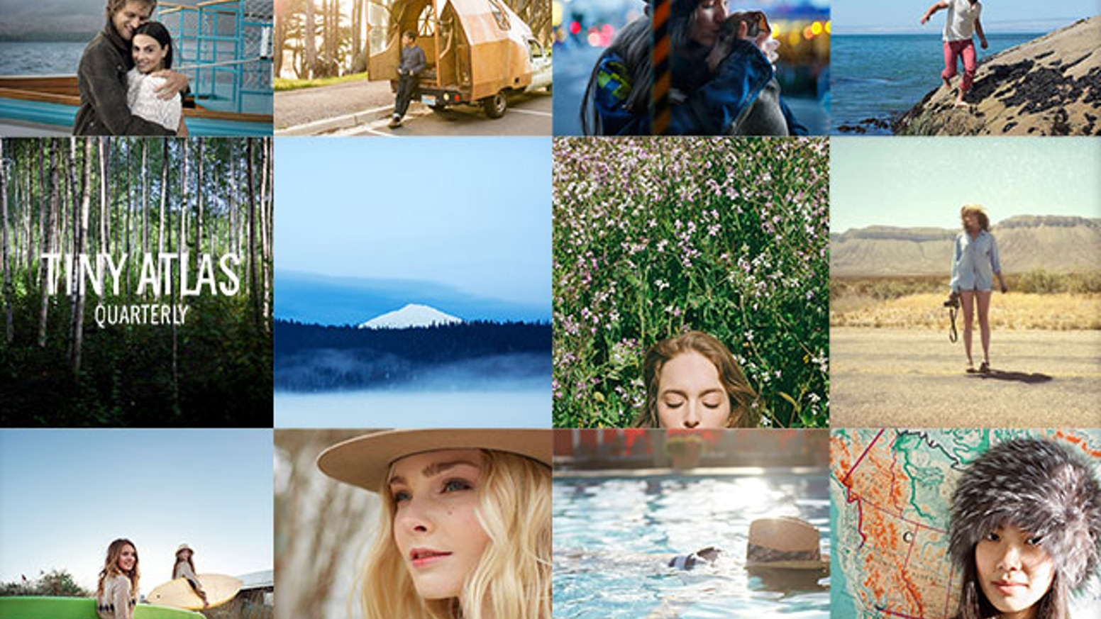 Tiny Atlas Quarterly magazine features travel in a fresh, immersive and personal way. Fund our next edition on-line and in print today!