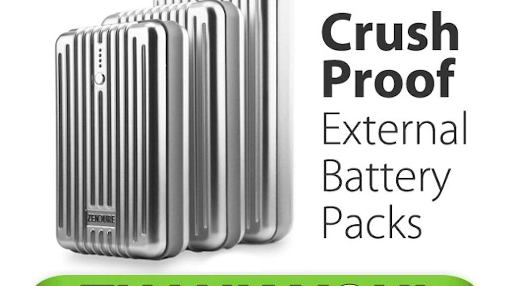 ZENDURE: Crush Proof External Batteries for Everyday Life project video thumbnail