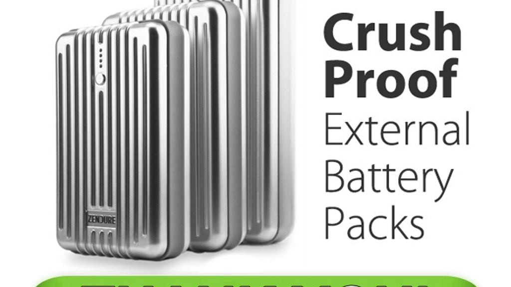 ZENDURE: Crush Proof External Batteries for Everyday Life project video thumbnail