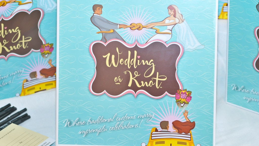 Wedding or Knot, 1st board game for brides & bridal showers! project video thumbnail