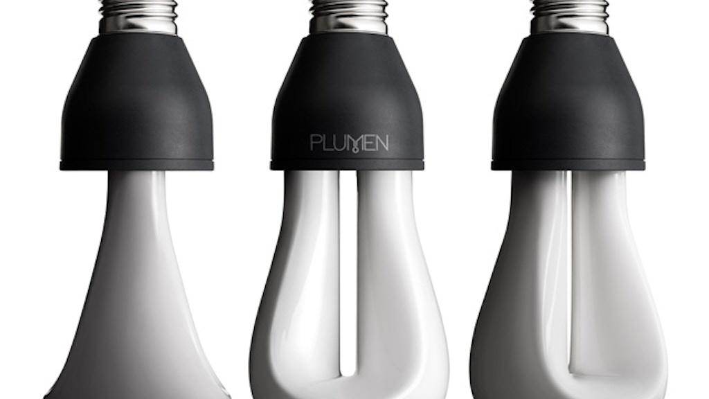 PLUMEN 002: Designer Low Energy Light Bulb project video thumbnail
