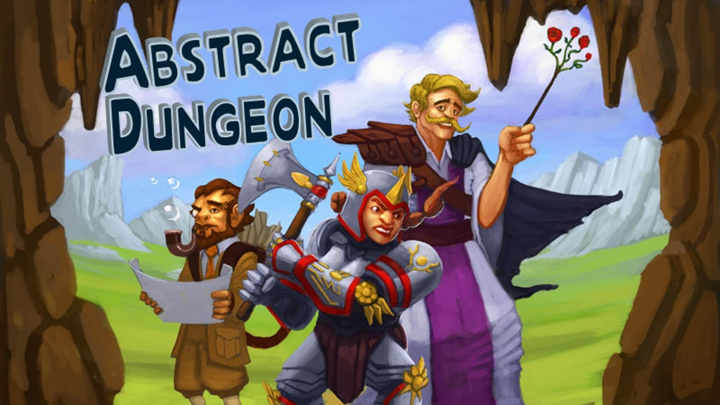 The Fastest RPG I've Ever Played - Abstract Dungeon project video thumbnail