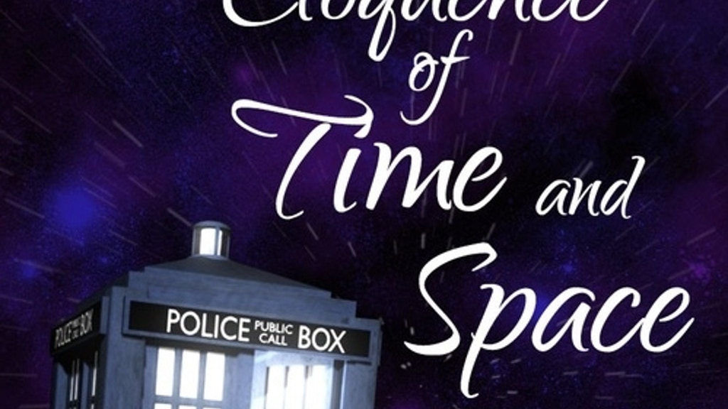 An Eloquence of Time and Space: A Doctor Who 50th Poem Book project video thumbnail