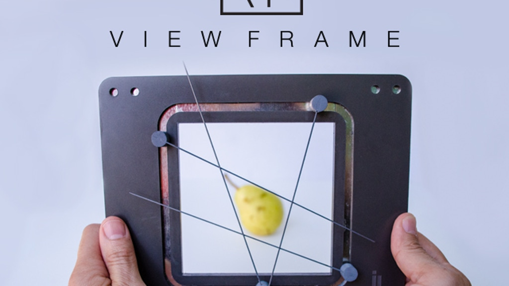 The Miira View Frame project video thumbnail