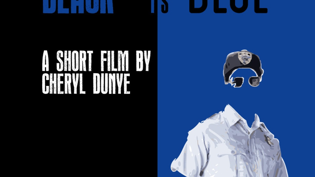 BLACK IS BLUE---a new short film by Cheryl Dunye project video thumbnail