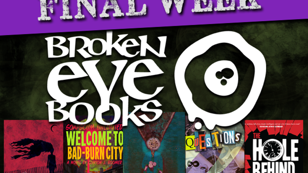 CROOKED and Other Oddities from Broken Eye Books project video thumbnail