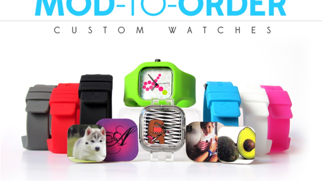 Mod-to-Order: design your own custom Modify Watches! project video thumbnail