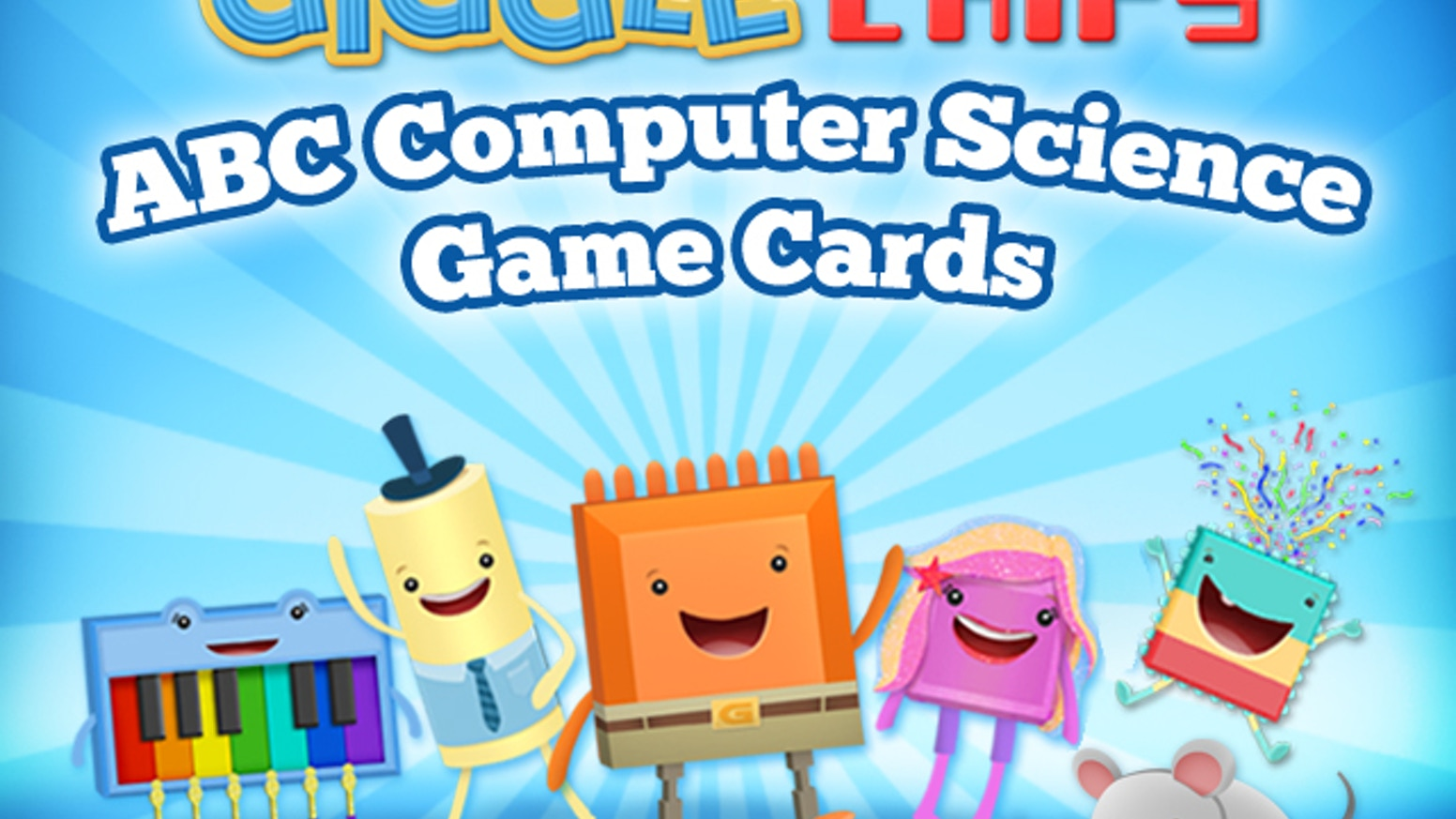 Giggle Chips Abc Computer Science Game Cards By Jennifer Ellis Code And Circuit Board Background Illustration Inspire Your Childs Curiosity To Learn Coding Literacy With Our Fun Stem