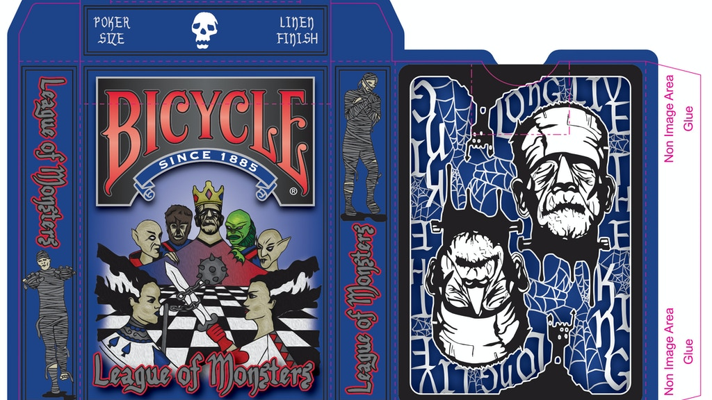 Project image for The League of Monsters playing cards