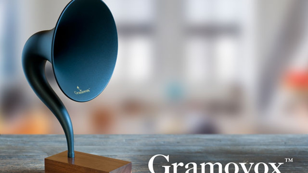 Gramovox™ Bluetooth Gramophone project video thumbnail