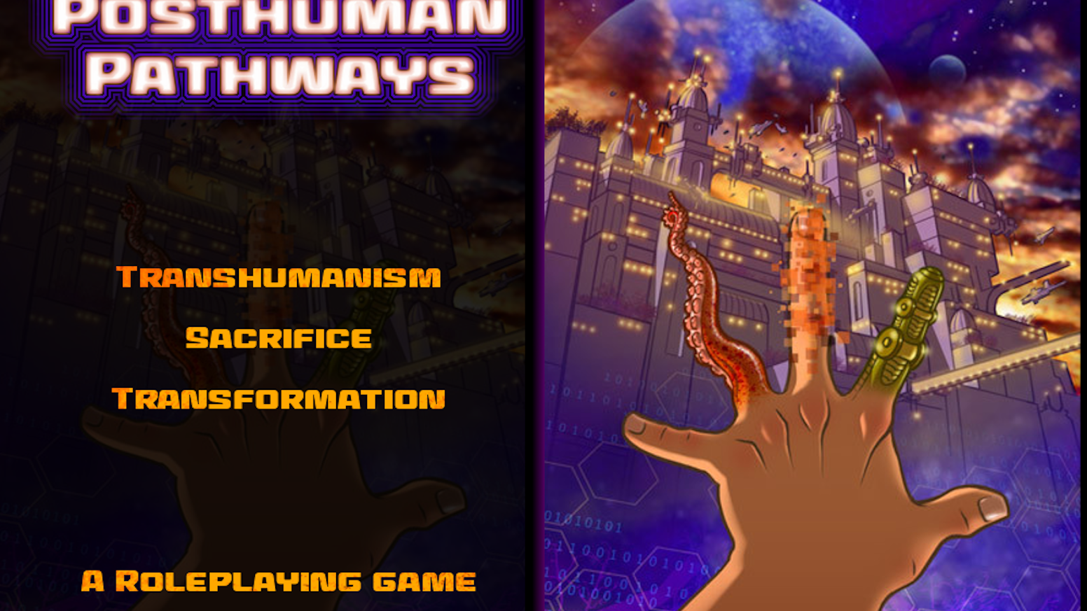 A Roleplaying Game of Transhumanism, Sacrifice and Transformation.
