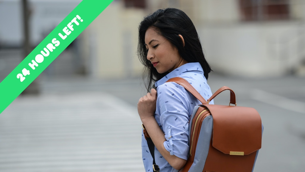 The perfect bag for the modern woman. Carry on, beautifully. project video thumbnail